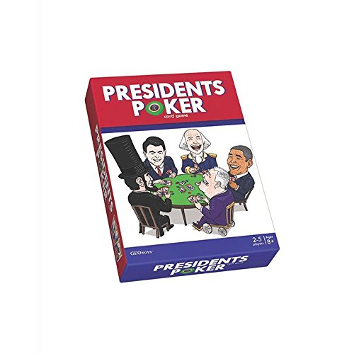 Presidents Poker Educational Historical Card Game - image 2 of 2