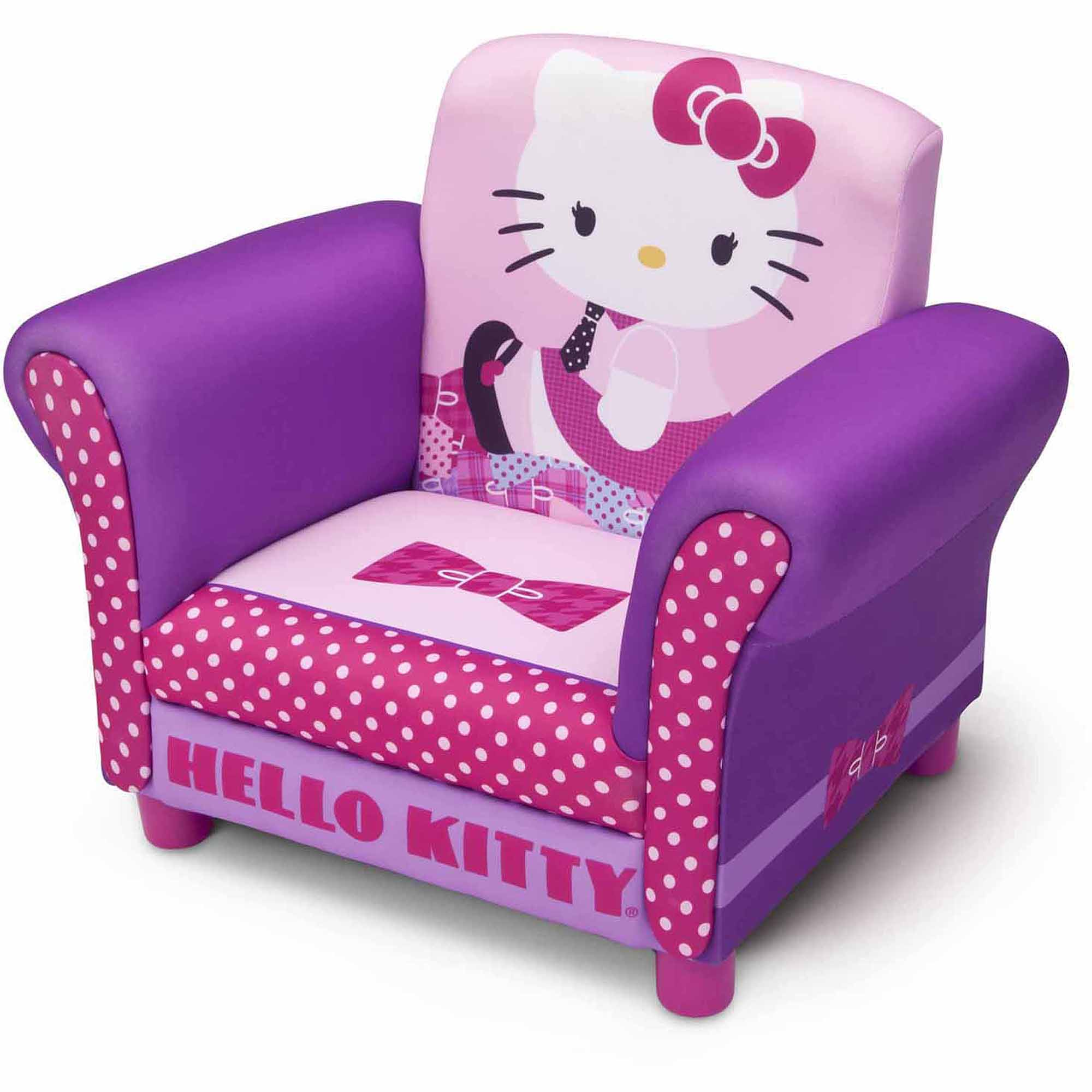 Attrayant Delta Children Hello Kitty Upholstered Chair   Walmart.com