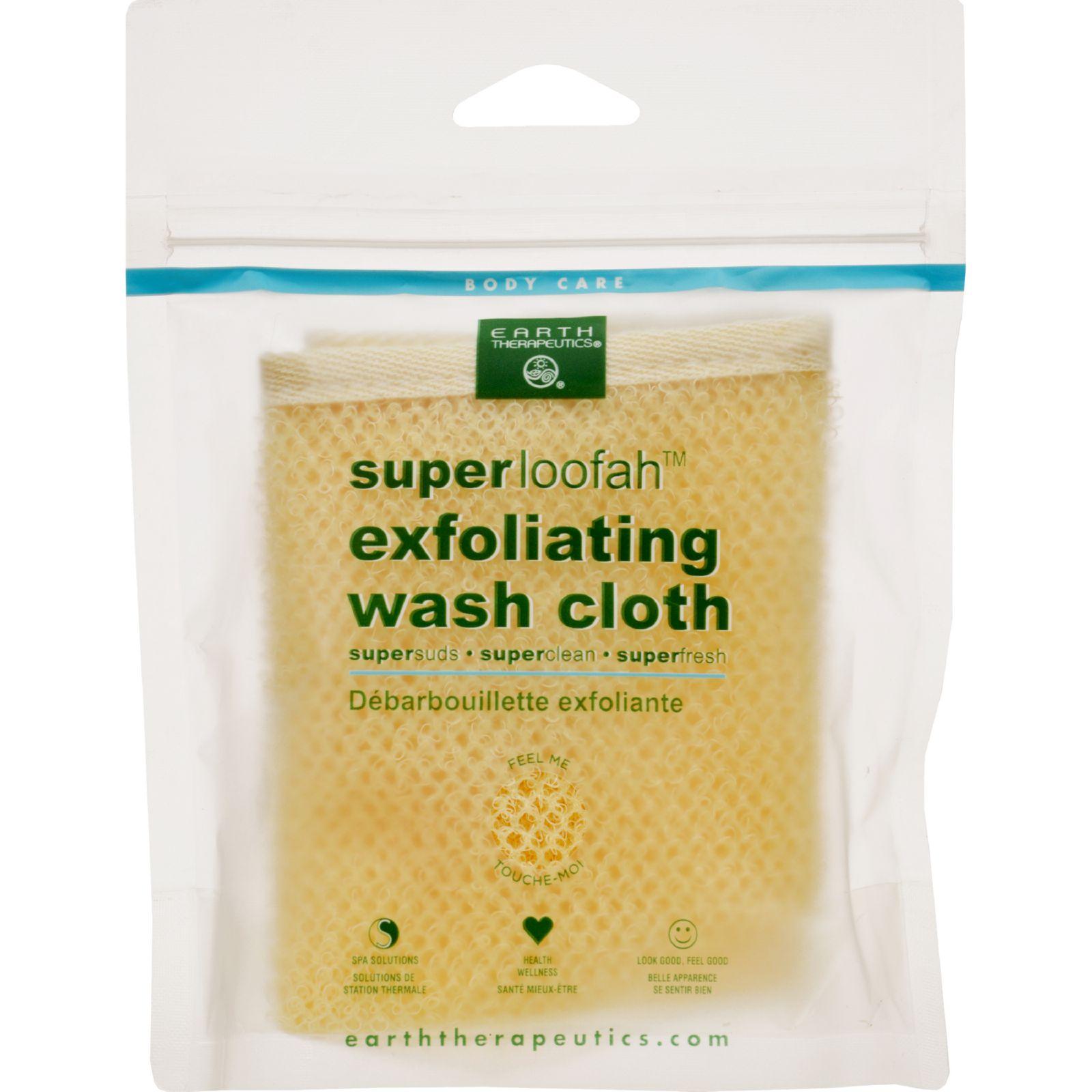Earth Therapeutics Loofah - Super - Exfoliating - Wash Cloth - 1 Count