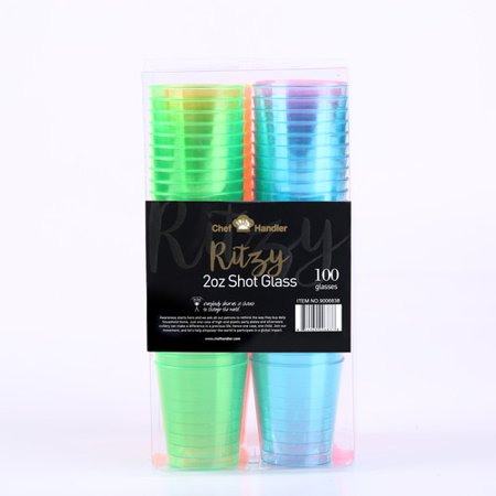 Plastic shot glass walmart