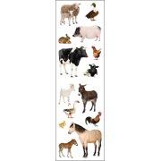 Mrs. Grossman's Stickers-Barnyard Animals