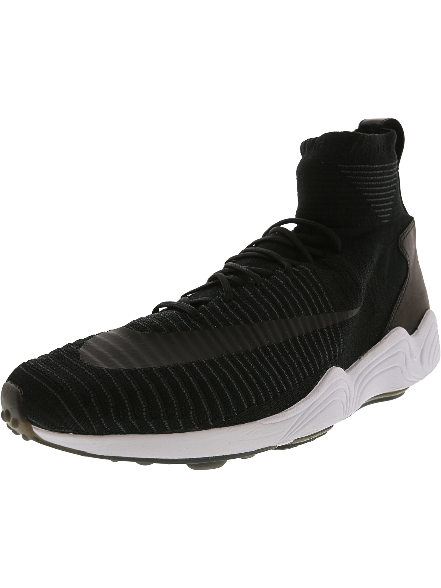 23b1d0a442ce0 Nike Men s Zoom Mecurial Xi Fk Black   - White Anthracite High-Top Running  Shoe 9M