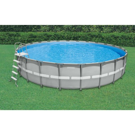 Intex 14 39 X 42 Ultra Frame Above Ground Swimming Pool With Filter Pump Best Buy Frame