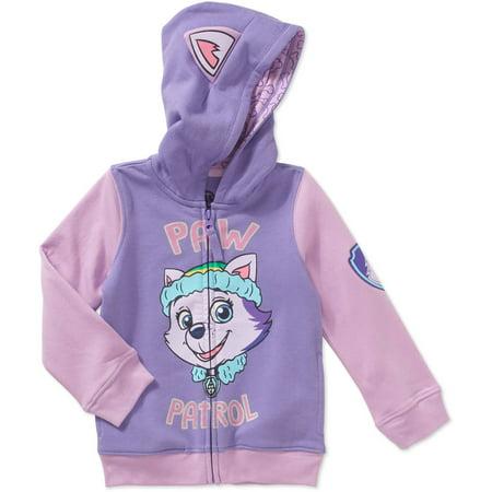 Paw Patrol Girl (Paw Patrol Costume Zip Hoodie (Toddler)