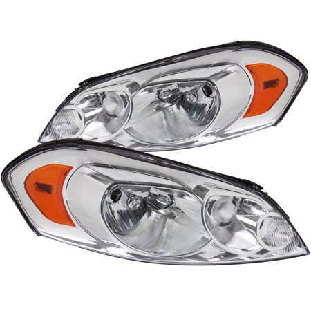 Spec-D Tuning For 2006-2013 Chevy Chevrolet Impala Limited Monte Carlo Headlights Head Lamps (Left+Right) Replacement 2006 2007 2008 2009 2010 2011 2012