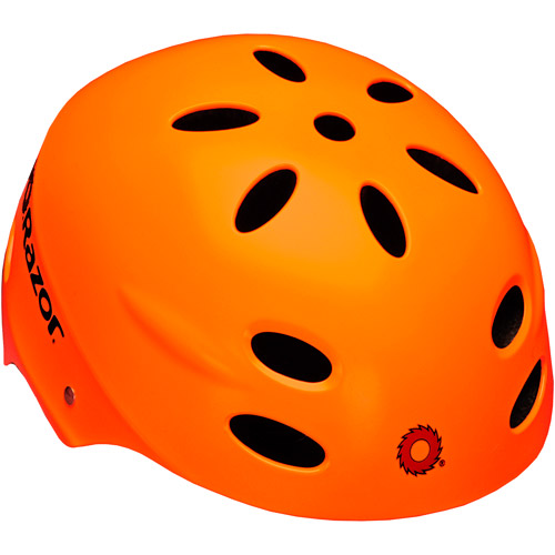 Razor Neon Orange Helmet, Youth
