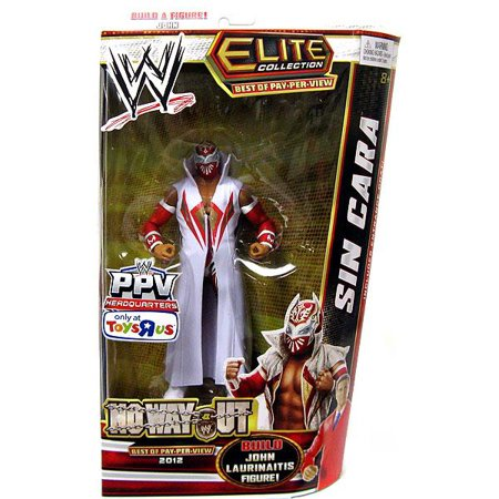 Sin Cara Costumes (WWE Wrestling Elite Best of Pay Per View Sin Cara Exclusive Action)