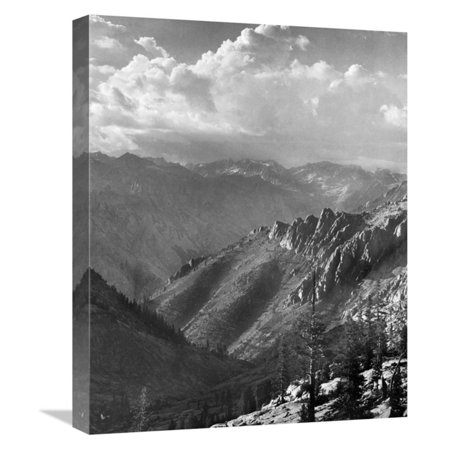 1936 Replica Sky King - Global Gallery Middle Fork At Kings River Kings River Canyon 1936 Wall Art