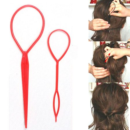 Magic Hair Twist Styling Clip Stick Bun Hairstyle Maker Braid Tools