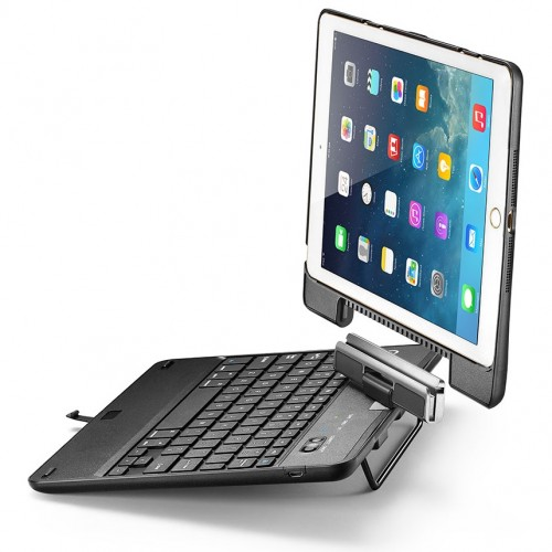 iPad Air 2 Keyboard Case, iPad Air Keyboard Case, New Trent Airbender Star with Detachable Wireless Bluetooth Smart Keyboard for Apple iPad Air / iPad Air 2