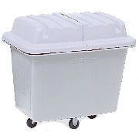 Rubbermaid Cube Truck,HDPE,White,11.9 cu. ft. FG461200WHT