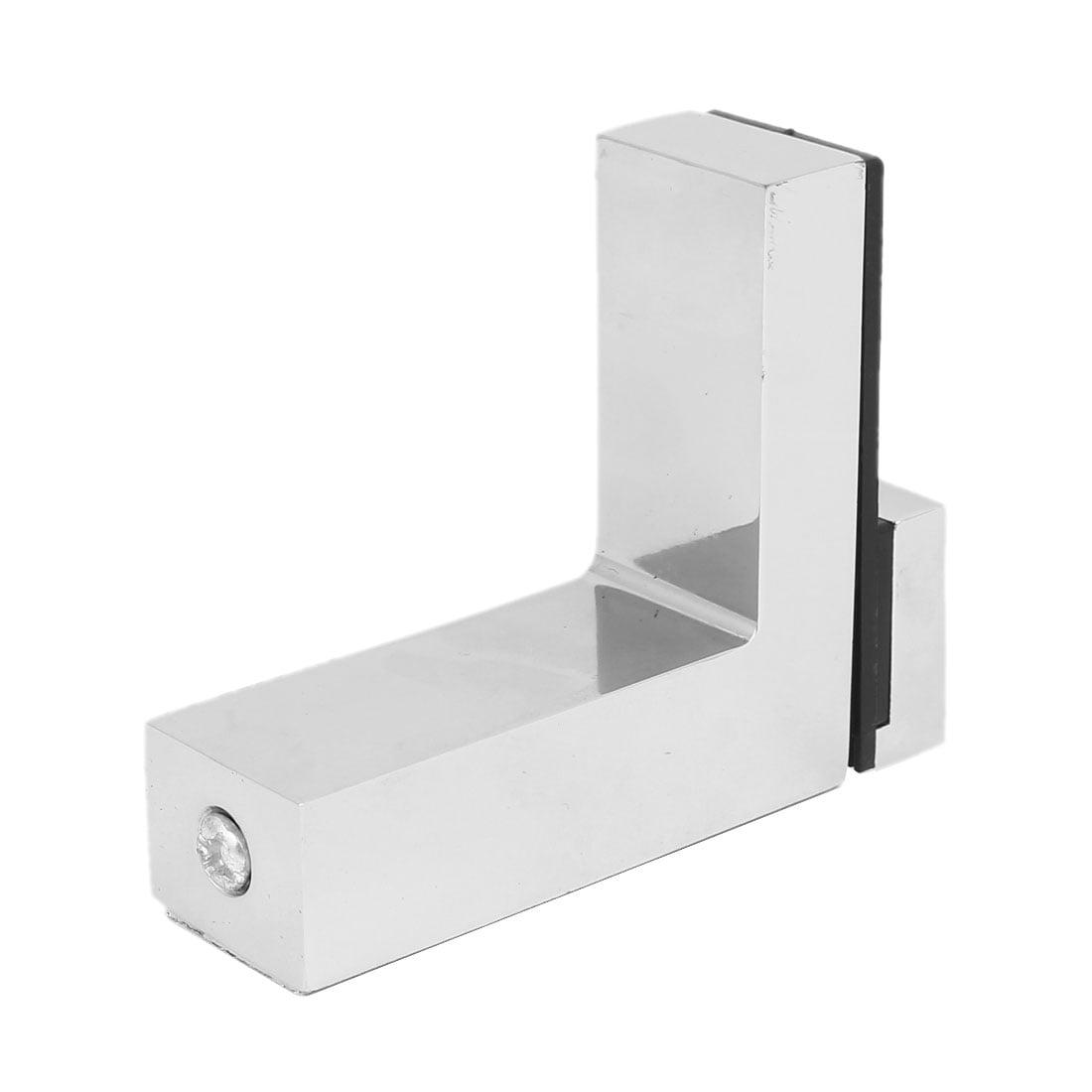 Wall Cabinet Metal Adjustable Glass Clip Shelf Clamp Support Bracket Holder - image 1 of 6