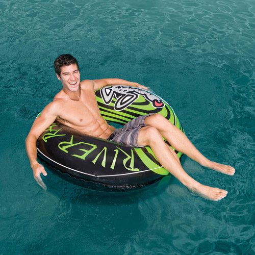 Intex Inflatable River Rat Classic Tube Float