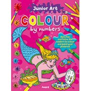 Colour by Numbers - Mermaid : Featuring a Picture of the Finished Page for Extra Guidance
