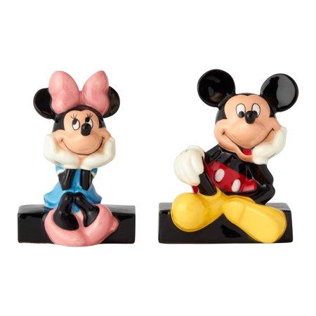 Enesco Disney Mickey And Minnie 6001013 Salt And Pepper Shakers (Enesco Homegrown Cat Salt)
