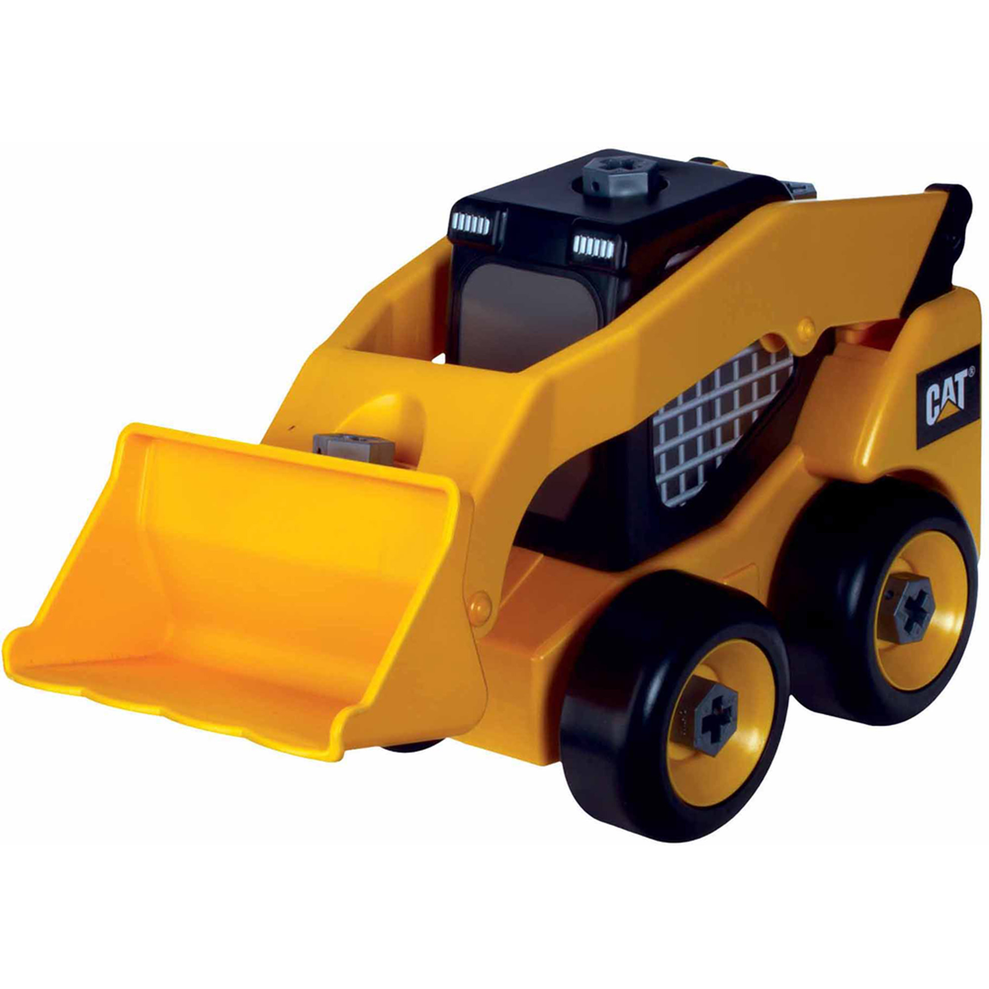 Toysmith Caterpillar Take A Part Skid Steer, Cat
