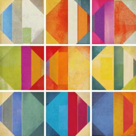 Posterazzi Pattern Tiles II Canvas Art - NOAH (24 x - Noahs Ark Tile