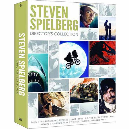 Steven Spielberg Directors Collection  Dvd With Digibook Packaging