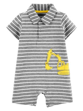 15378eb98 Product Image Short Sleeve One Piece Romper (Baby Boys)