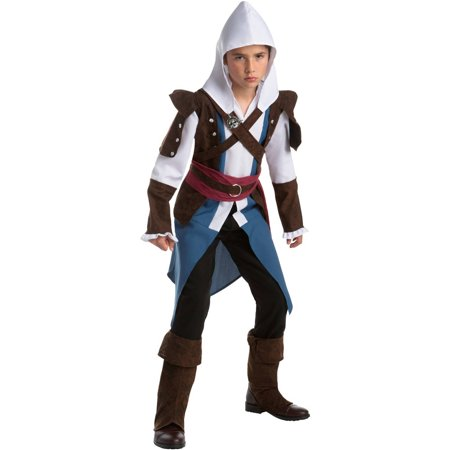 Funny Costumes For Teens (Assassin's Creed: Edward Classic Teen Halloween Costume,)