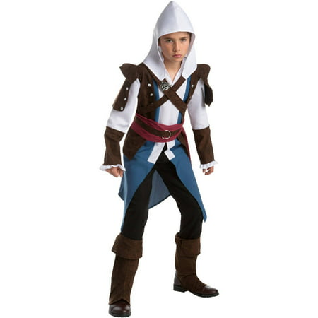 Assassin's Creed: Edward Classic Teen Halloween Costume, XL - Kids Assassin Creed Costume
