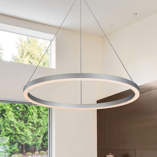 "VONN Lighting  Tania VMC31640AL 24"" Integrated LED Circular Chandelier"