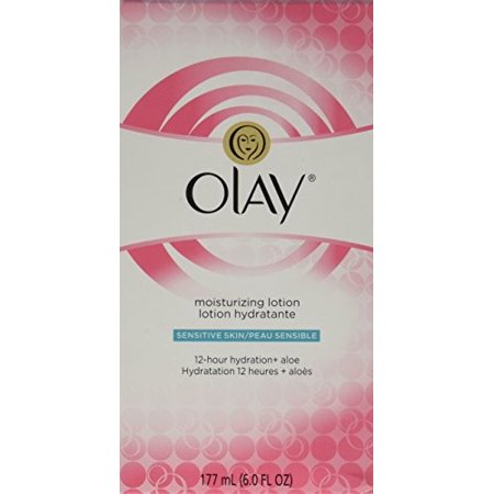 Olay Moisturizing Face Lotion  Sensitive Skin 6 0 Fl  Oz