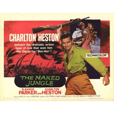 The Naked Jungle - movie POSTER (Style L) (11 x 14