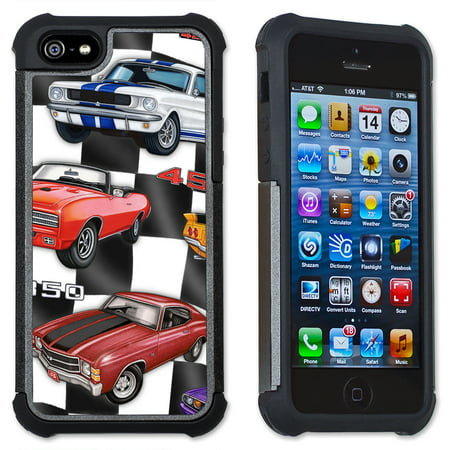meet cc579 4bf38 60's Hot Rods - Maximum Protection Case / Cell Phone Cover with Cushioned  Corners for iPhone 6 & iPhone 6S