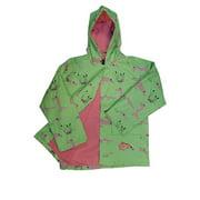 Baby Boys Happy Gators in Green Rain Coat 1T