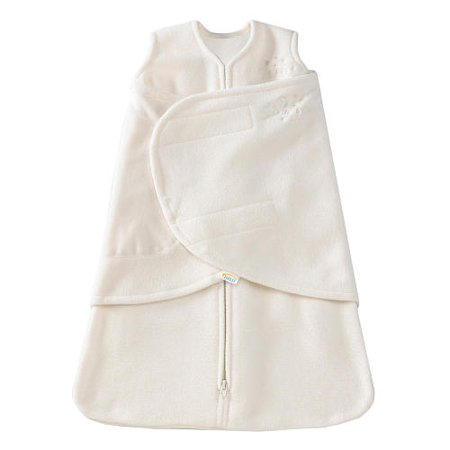 HALO Sleepsack Swaddle - Micro-Fleece - Cream - Newborn