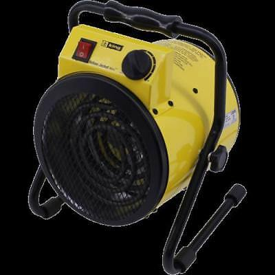 King Electric PSH1215T 1500W 120V Portable Shop Heater - Yellow