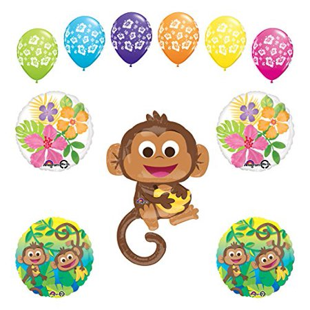 Mod Monkey Party Supplies Birthday Or Baby Shower Boy Monkey Love