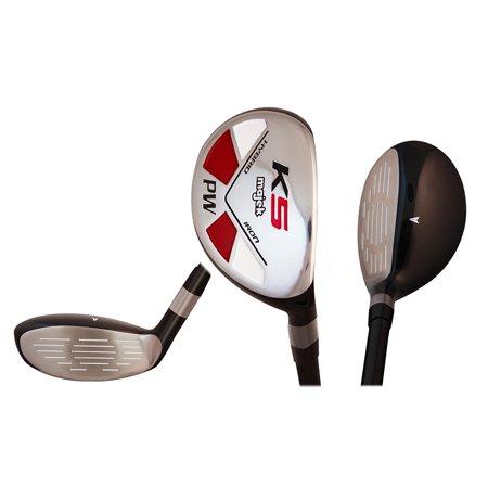 Majek Golf Petite Senior Lady PW Hybrid Lady Flex Right Handed Utility L Flex Club (Petite - 5' to 5'3
