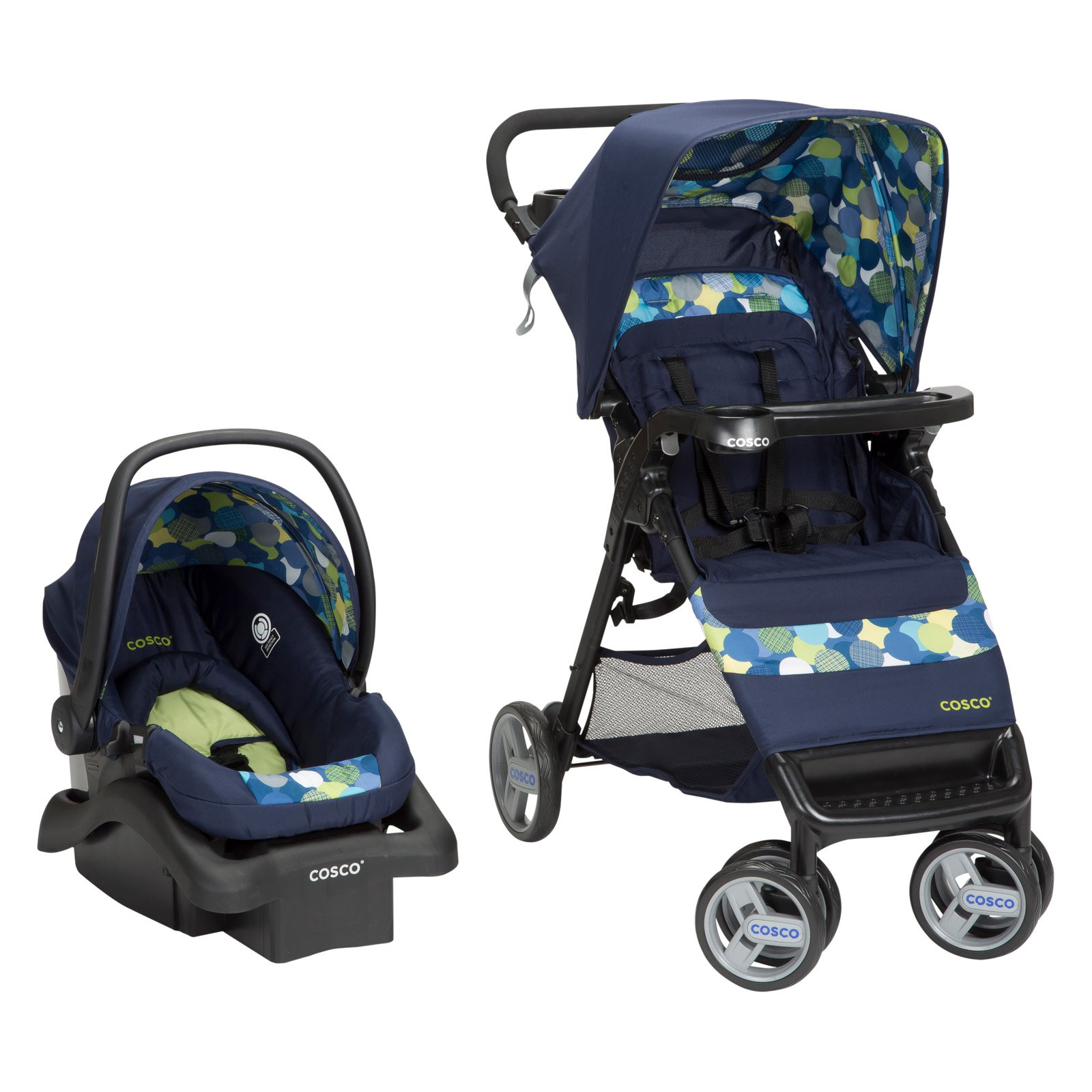 Cosco Simple Fold Travel System - Comet