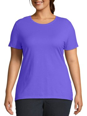 Just My Size Women's Plus Size Short Sleeve Tee