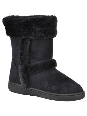 Brinley Kids Girl's Faux Fur Trim Boots