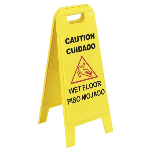 Carlisle Food Service Products Floor Sign (Set of 6)