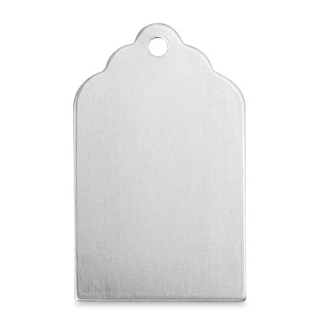 ImpressArt Stamping Blanks - Tag, Aluminum, Pkg of