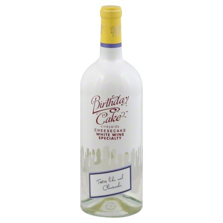 Birthday Cake White Cheesecake Wine 750 ML
