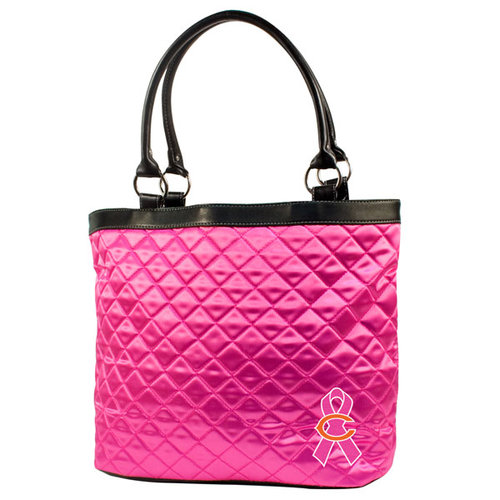 NFL - Chicago Bears Breast Cancer Awareness Quilted Tote