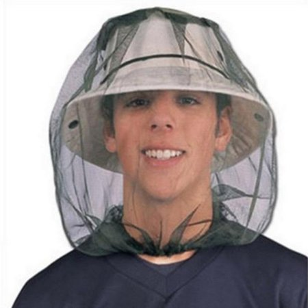 Mosquito Head Net Mesh Face Protector Cap Insect Bee Sun Fish