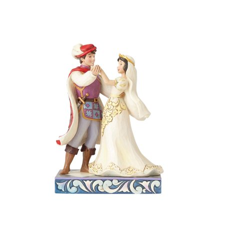 Jim Shore Disney Snow White & Prince Wedding 4056747 New 2017 - Jim Shore Halloween Disney