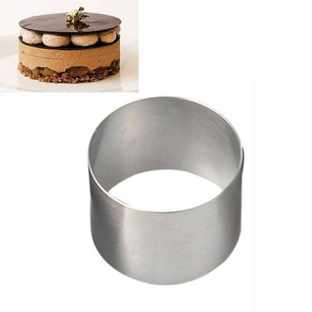 - Mini Round Mousse Cake Food Grade Stainless Steel Pastry Ring For Baking