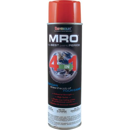Seymour of Sycamore 620-1432 20 oz Industrial Mro High Solids Spray Paint, SJ Orange - Pack of 6 - image 1 of 1