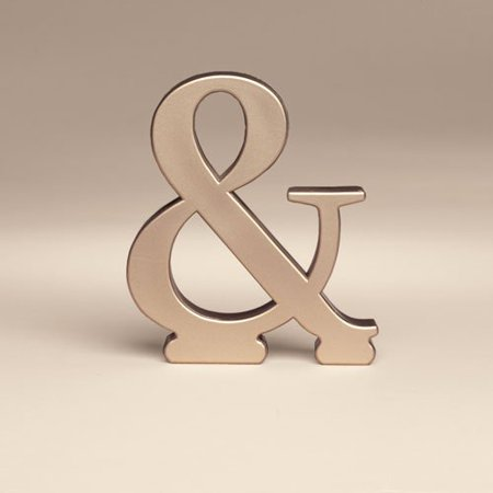 - Bakery Crafts Monogram & Wedding Topper, 1ct