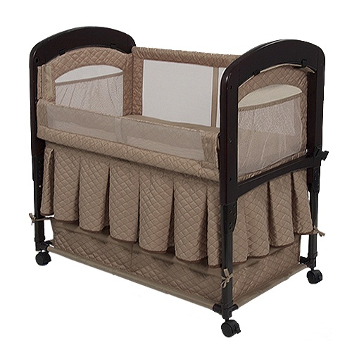 Arm's Reach Cambria Co-sleeper Bassinet - Toffee