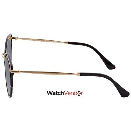 6b7307c613 Jimmy Choo Dhelia Dark Grey Gradient Cat Eye Sunglasses DHELIA/S 489O 48 -  image ...