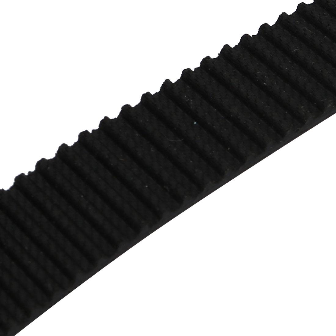 S3M 119 Teeth Engine Timing Belt Rubber Geared-Belt 357mm Girth 15mm Width - image 1 de 2