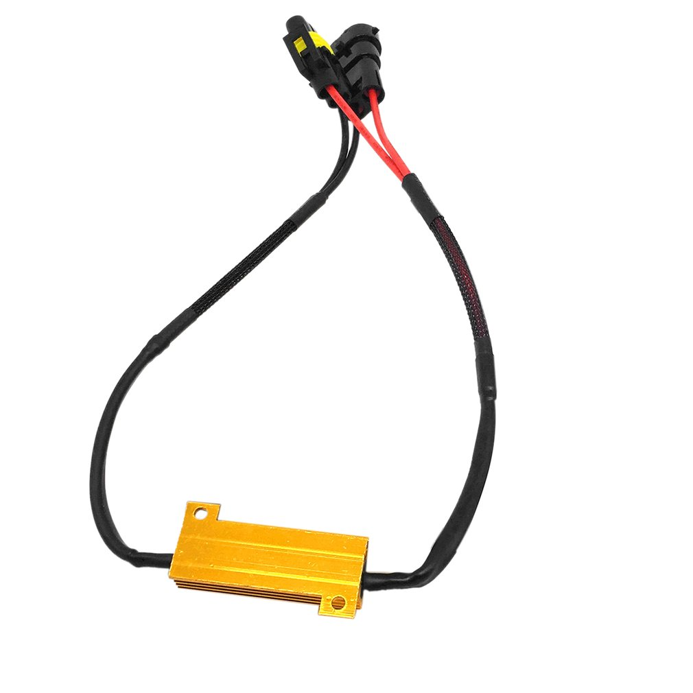 Dc12v 50w H8 H11 Led Fog Light Wiring Harness Kit Foglamp Line Accessories Set Car Vehicle Automobile Modification